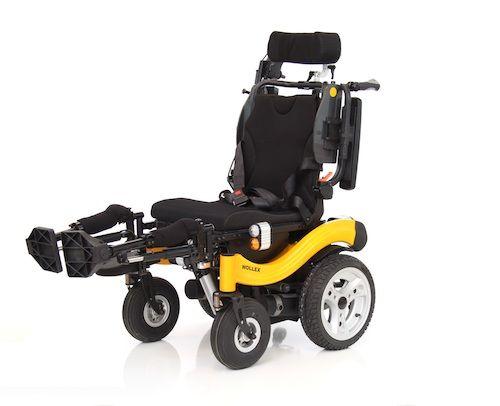 W165-S Enjoy Aküllü Tekerlekli Sandalye