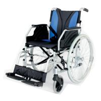 WOLLEX - W217 Aluminyum Hafif Manuel Tekerlekli Sandalye