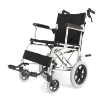 WOLLEX - WG-M805-18 Refakatçı Tekerlekli Sandalye