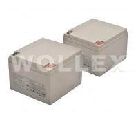 WOLLEX - 12000126 12V 26Ah Deep Cycle Jel Akü 2 adet