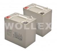 WOLLEX - 12000155 12V 55Ah Deep Cycle Akü 2 adet