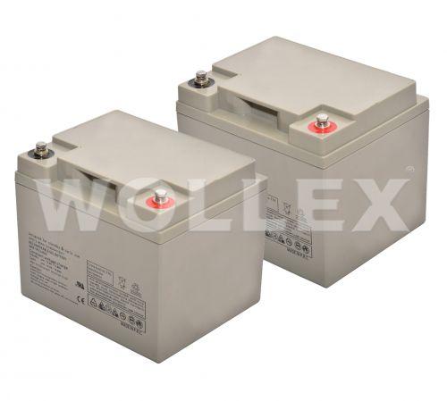 WOLLEX - 12000140 12V 40Ah Deep Cycle Akü 2 adet
