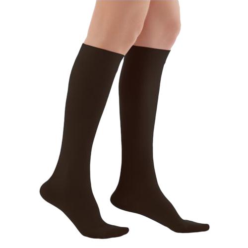 WOLLEX - 858 Dizaltı Burnu Kapalı CCL2 Siyah Varis Çorabı