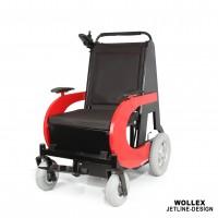 WOLLEX - Jetline-Design Refakatçi Sürüşlü Akülü Tekerlekli Sandalye