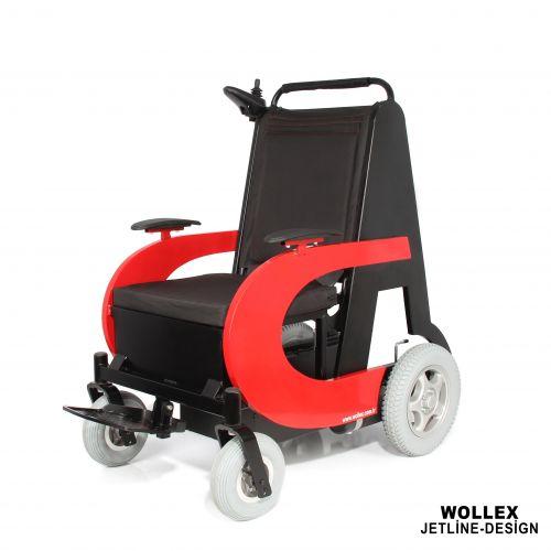 Jetline-Design Refakatçi Sürüşlü Akülü Tekerlekli Sandalye