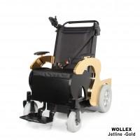 WOLLEX - Jetline-Gold Refakatçi Sürüşlü Akülü Tekerlekli Sandalye