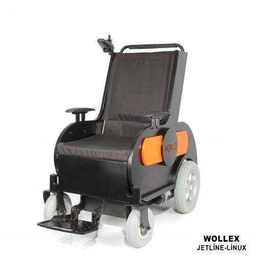 WOLLEX - Jetline-Linux Refakatçi Sürüşlü Akülü Tekerlekli Sandalye