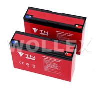 WOLLEX - 12000036 12V 36Ah Deep Cycle Jel Akü 2 adet