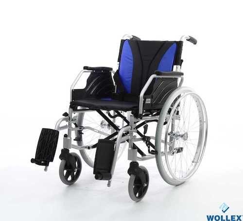 W217 Aluminyum Hafif Manuel Tekerlekli Sandalye