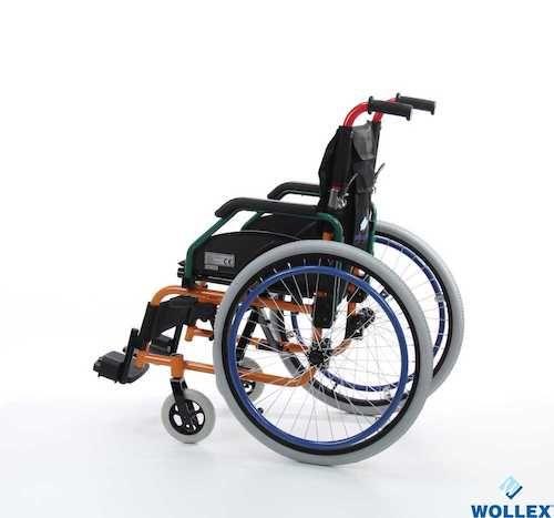 W980 Çocuk Aluminyum Manuel Tekerlekli Sandalye